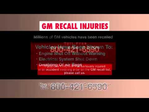 GM Recall Lawsuits - (800) 223-3784