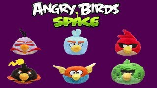 """All 6 Space Angry Bird """"Plush Bus"""" Claw Machine Wins!"""