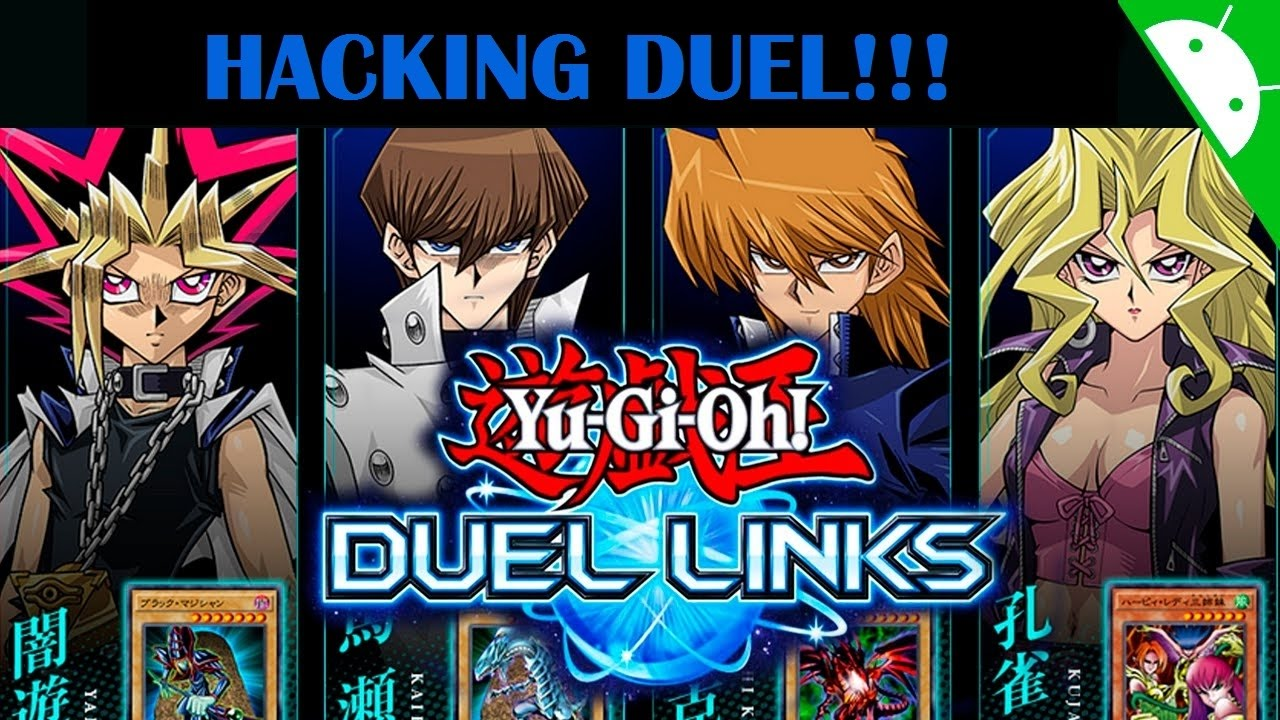 yu gi oh duel links hack cheat duel gameplay youtube