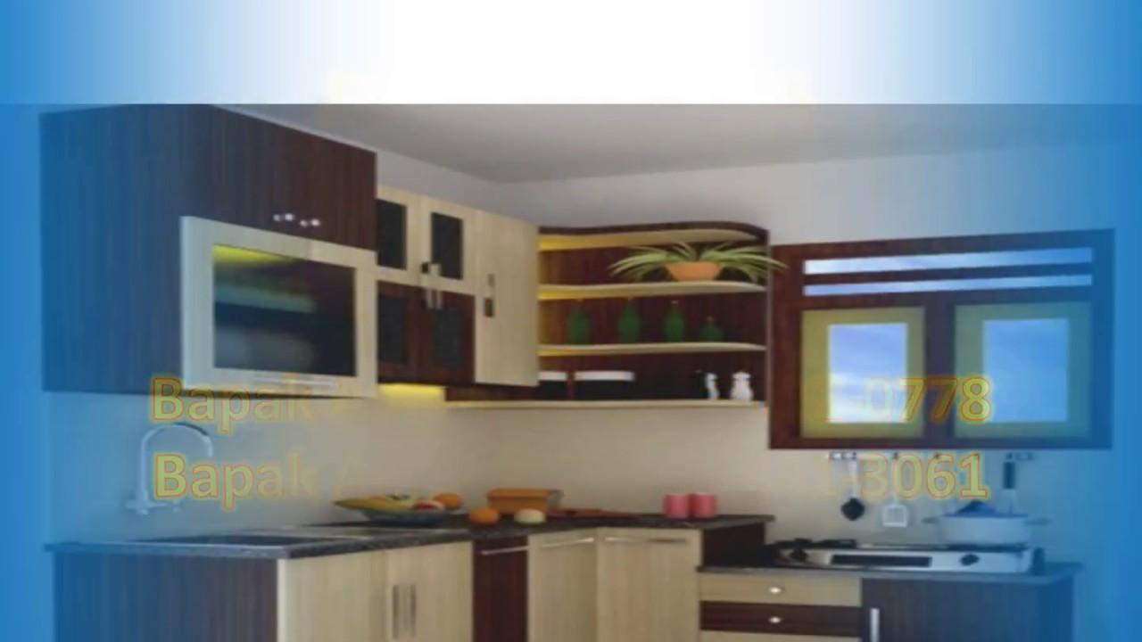 Sale 62 813 3002 0778 Jual Kitchen Set Jadi Youtube