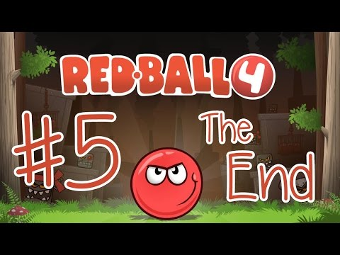 Playing Red Ball 4  THE END!!! iPadiOSTablet Gameplay Video KID GAMING