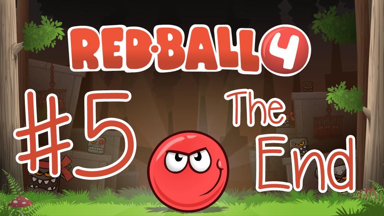 Playing Red Ball 4 The End Ipad Ios Tablet Gameplay