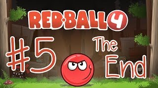 Playing Red Ball 4 - THE END!!! (iPad/iOS/Tablet Gameplay Video) KID GAMING