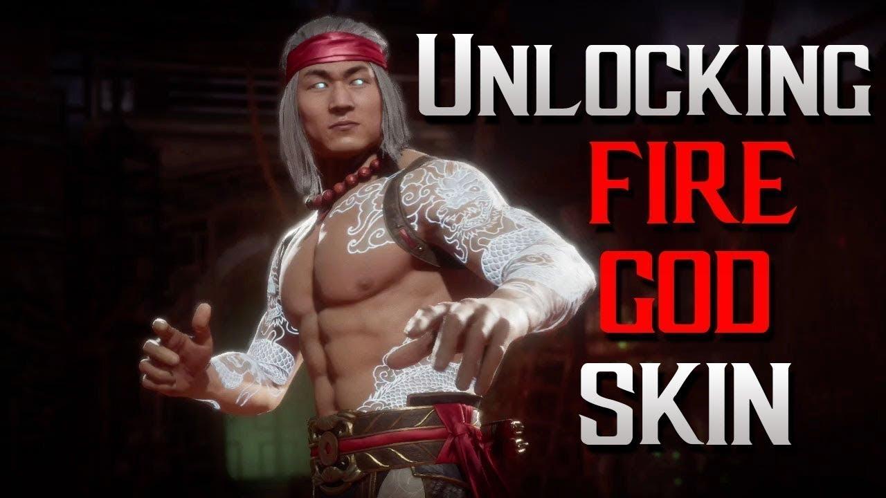 Liu Kang Tattoo: MK11 How To Get FireGod LiuKang & Complete Guanlet #30