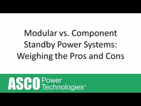 Modular Vs Component Standby