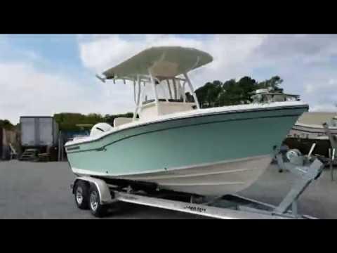 2017 Grady White Fisherman 209 Yamaha F200XB Load Rite Aluminum Trailer