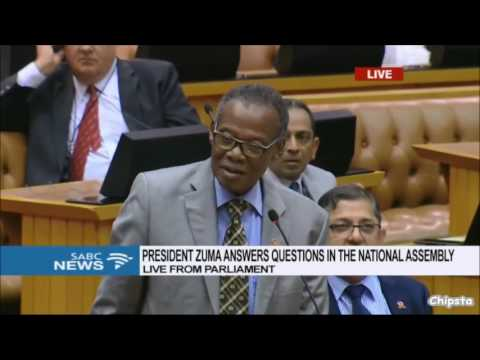 Buthelezi (IFP) - complaining about behaviour of MPs