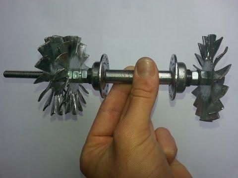 Home made Jet engine - Come Realizzare una Turbina Jet - Part 1