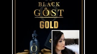 Gost Black Series GOLD E Juice Review and Tasting
