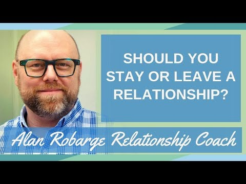 Deciding to stay or leave a relationship
