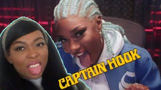 Megan Thee Stallion - Captain Hook [Official Video] | Reaction