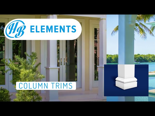 Hardie Boys PVC Column Trims