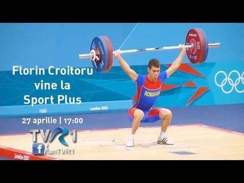 Florin Croitoru, medaliatul cu aur la CE de Haltere 2014, vine la Sport Plus