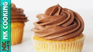 Шоколадный Крем Чиз 🍰 Идеально Для Капкейков Тортов Эклеров 🍰 Рецепты NK cooking