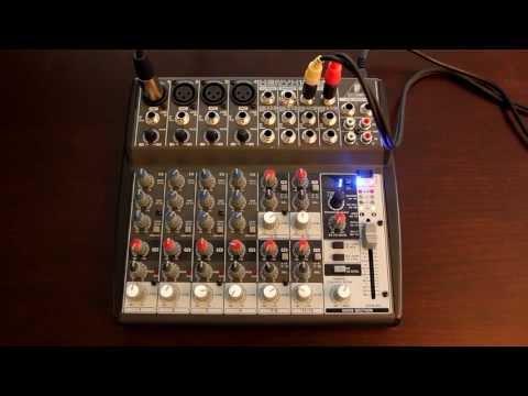 Home Recording Tips - How to Plug a Mixer into a DSLR