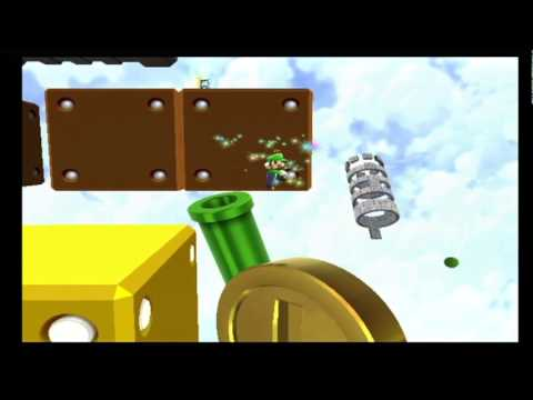 Super Mario Galaxy 2 Green Stars - Supermassive Galaxy ...