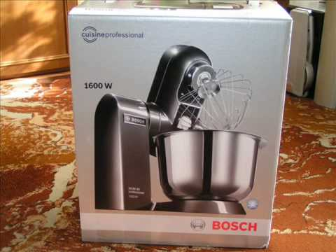 My New Kitchen Machine Bosch Mum86a1 Professional Youtube