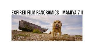 Expired film panoramics | Mamiya 7ii | Dungeness