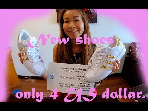 New shoes for 4 US dollar
