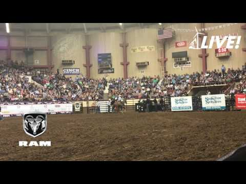 Ty Harris of San Angelo - Final Round of the 2017 San Angelo Rodeo Cinch Shootout