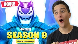 Hacker unveiled the theme of season 9 before the hour.. Fortnite