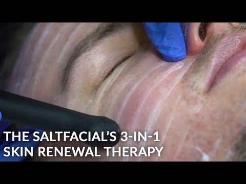 The Salt Facial Skin Renewal Therapy | Exfoliating Sea Salt Rejuvenation Treatment | Dr. Jason Emer