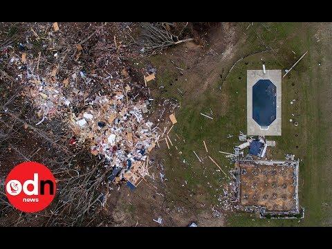 Tornado Rips Through Alabama And Georgia Killing At Least 23