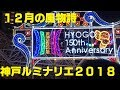 【神戸ルミナリエ2018】点灯式などの様子【初日】 の動画、YouTube動画。