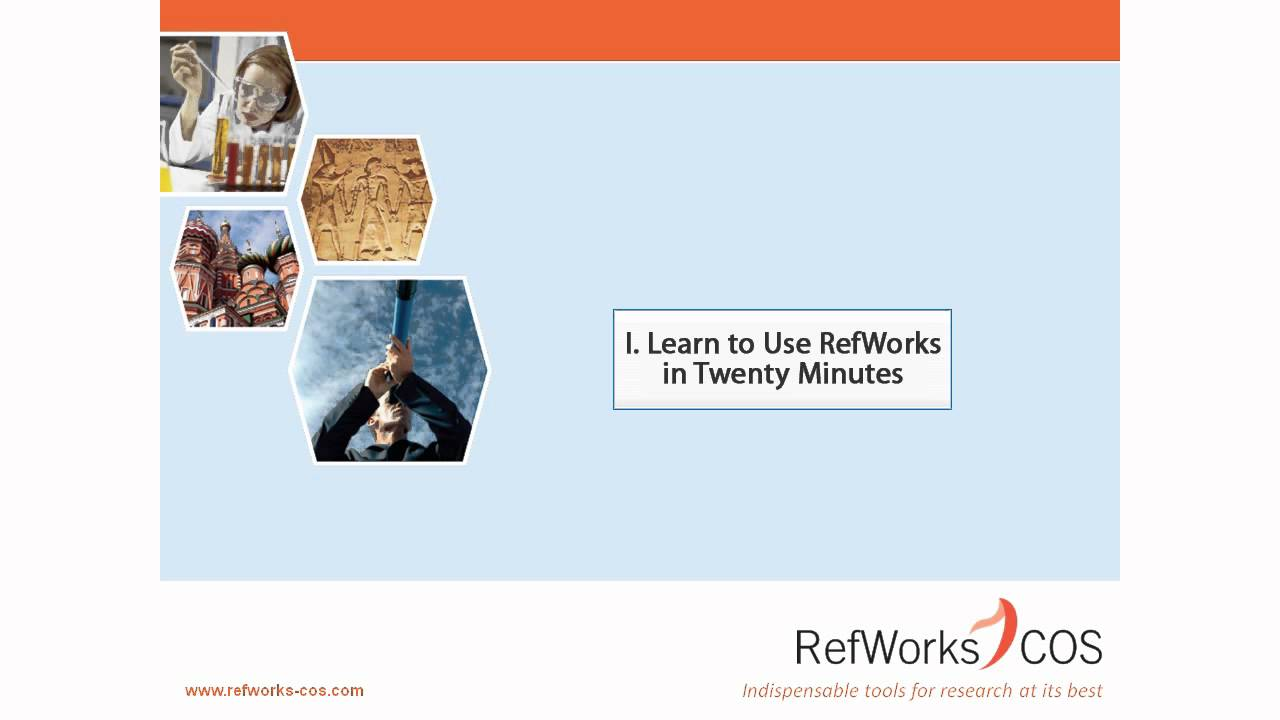 how to use refworks proquest