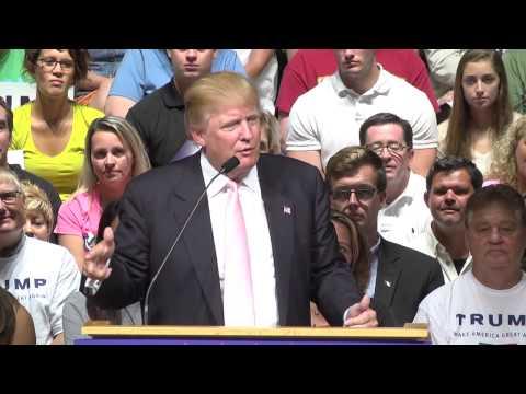 7/25/15 - Donald Trump - Full Oskaloosa Iowa Event - YouTube