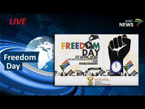 2016 Freedom Day Celebrations, Giyani - Limpopo: 27 April 2016