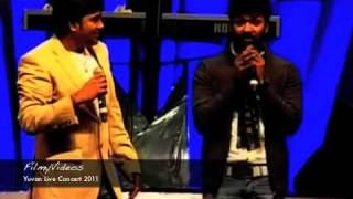 Jai and Shiva funny in Yuvan Concert 2011