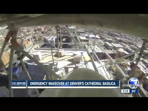 Emergency makeover at Denver's Basilica