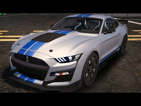 2020 Ford Mustang Shelby GT500 GTA 5