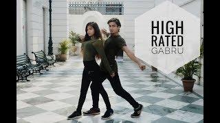 HIGH RATED GABRU - NAWABZAADE | DANCE CHOREOGRAPHY | AARUSHI & PULKIT
