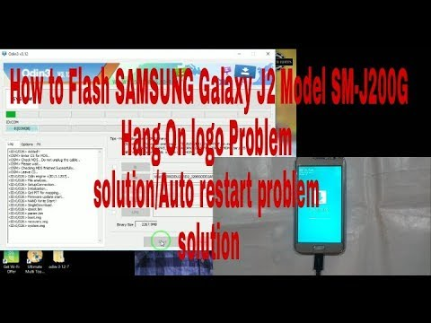 how-to-flash-samsung-galaxy-model-sm-j200g-hang-on-logo-problem-solution-auto-on-off-solution