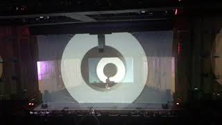Clip #1 from Max Cooper#39s Yearning for the infinite AV event at Barbican 28 Sept 2019.