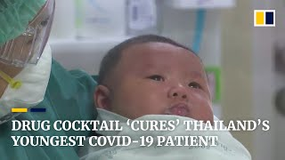 One-month-old Thai coronavirus patient 'cured' with antiviral drug cocktail, doctor says