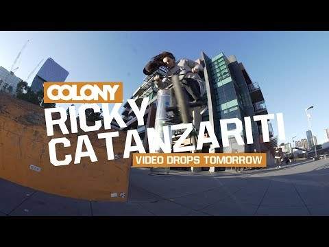 Little teaser clip for Ricky Catanzariti's video that is dropping tomorrow! Thanks for watching, make sure you subscribe: http://www.youtube.com/user/ColonyBMXBrand?sub_confirmation=1 @colonybmxb...