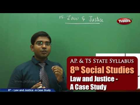 Law and Justice -A Case Study | 8th Social Studies | AP & TS State Board Syllabus | Live Video