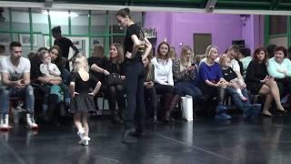 """Открытый урок дети 4-6 лет № 3, детский танец,  Спортивно - танцевальный клуб """"Пантера"""""""