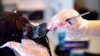 Absolute - лечение волос(Промо-видео по процедуре лечения и окрашивания волос в салоне красоты
