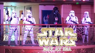Darth Vader takes over the Disney Fantasy for Star Wars Day at Sea 2020
