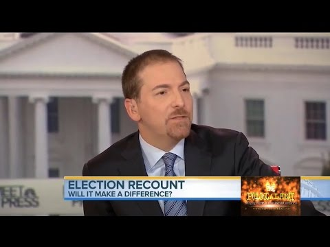 Chuck Todd on Recount Effort: Smells Like 'Somebody Talked Jill Stein Into This'