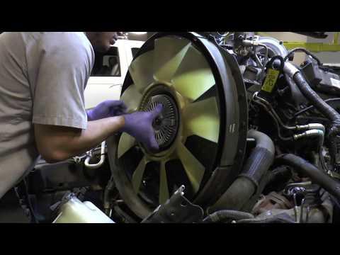 Hayden 6 0L Mechanical Fan Clutch w/ Bullet Proof Diesel Adapter