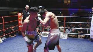 IBA Boxing - Ronnie Chisholm v Daniel Paredes - York Hall