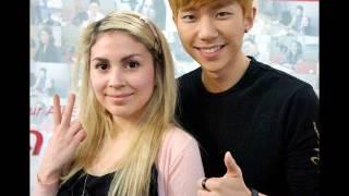 260413 DJ Kevin + Angelina Hello Kitty Cafe cut Hot Beat Arirang Radio