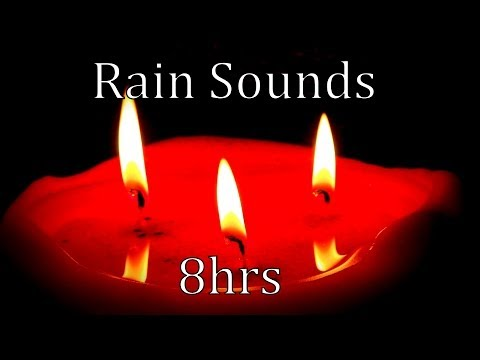 """8hrs """"Natural Rain Sounds""""  Get to Sleep and Stay Asleep"""