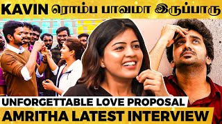 Heart for Thalapathy & Kavin – Amritha Aiyer Opens Up!