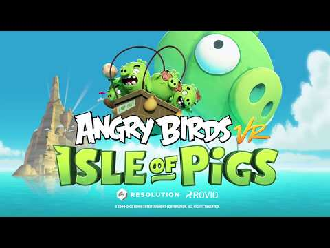 e31ab0009 Feathers will fly as the mobile hit Angry Birds arrives on Viveport - VIVE  Blog